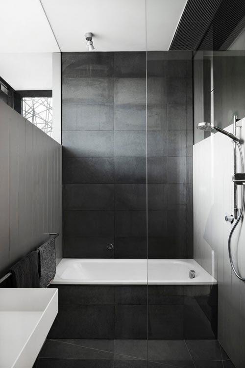 Moderne Badkamers Voorbeelden En Hedendaags Badkamer Design Ideeà ...