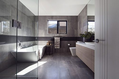 Kleine grote badkamer - Badkamers voorbeelden
