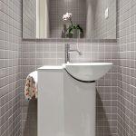 Badkamers voorbeelden kleine badkamer van 2m2 - Badkamer klein gebied m ...