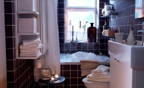 Badkamers voorbeelden ikea archives badkamers voorbeelden - Deco kleine badkamer met bad ...