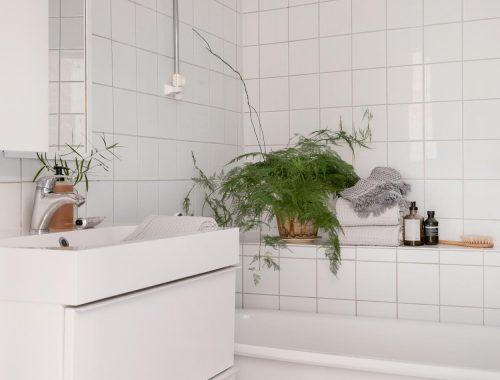 kleine leuke budget badkamer