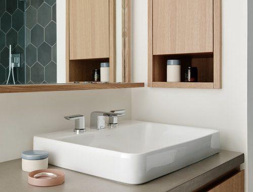 Strakke badkamer met tadelakt badkamers voorbeelden