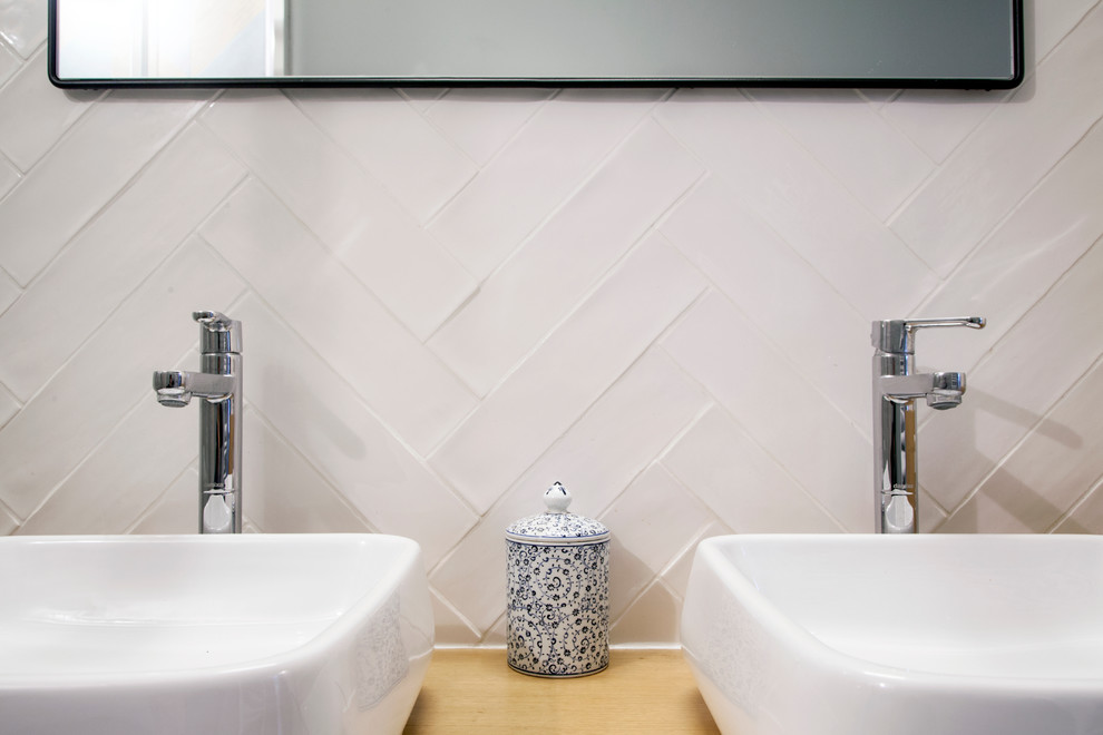 Kleine loft badkamer uit parijs badkamers voorbeelden - Kleine badkamer in lengte ...