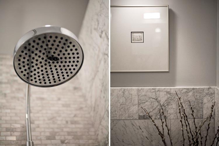 Kleine marmeren badkamer door interieur architect patrick perez badkamers voorbeelden - Marmeren douche ...