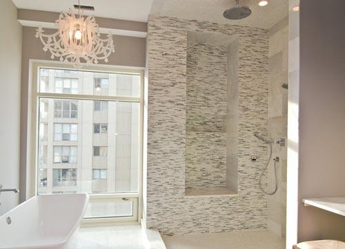 Kroonluchter in de badkamer badkamers voorbeelden - Barok spiegel voor badkamers ...