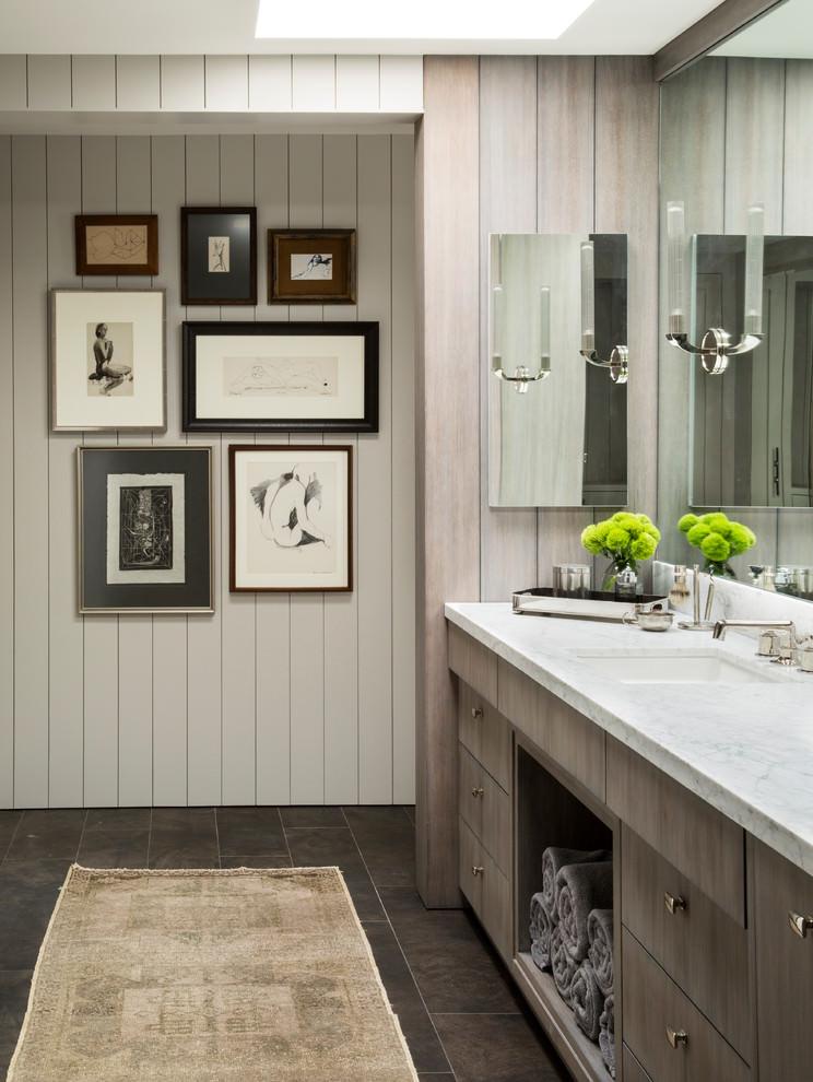 Badkamermeubel Landelijk Modern.Landelijke Badkamer In Een Modern Tintje Badkamers Voorbeelden