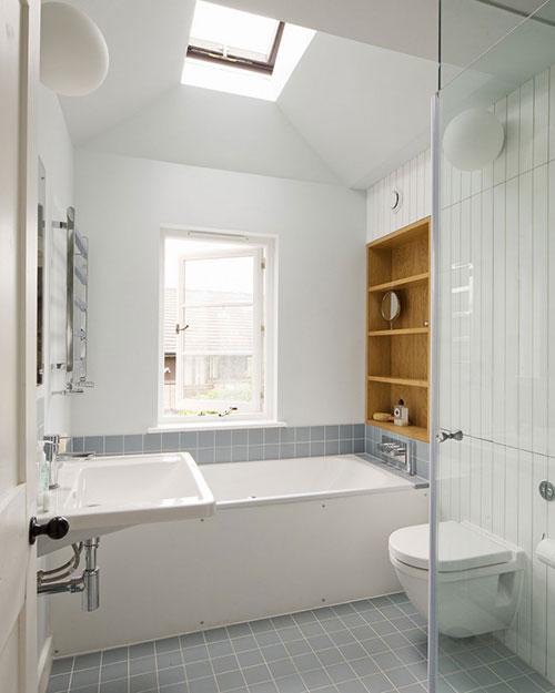 Landelijke badkamer stijl in Londen - Badkamers voorbeelden