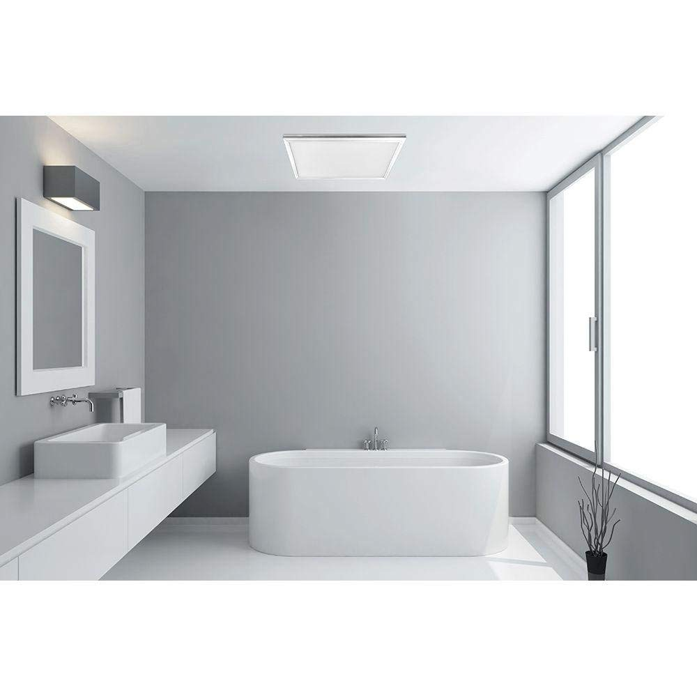Led paneel als badkamerverlichting