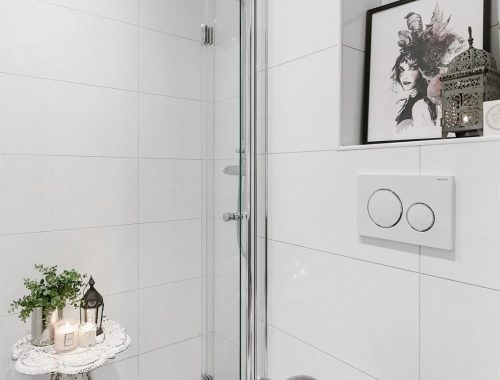 Kleine grijze badkamer inspiratie badkamers voorbeelden - Kleine badkamer m ...