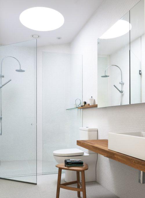 Badkamers voorbeelden » Lichte badkamer uit Sydney