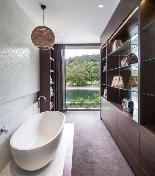 ... . Badkamers voorbeelden luxe badkamer achter in slaapkamer