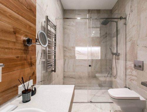 Luxe badkamer door architectenbureau Sretenka