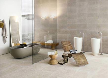 Luxe badkamer met glazen scheidingswand