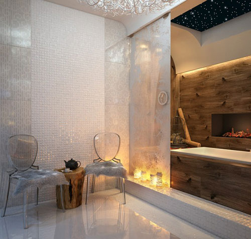 Badkamers voorbeelden » Luxe badkamer ideeën van Balamatsiuk Oksana