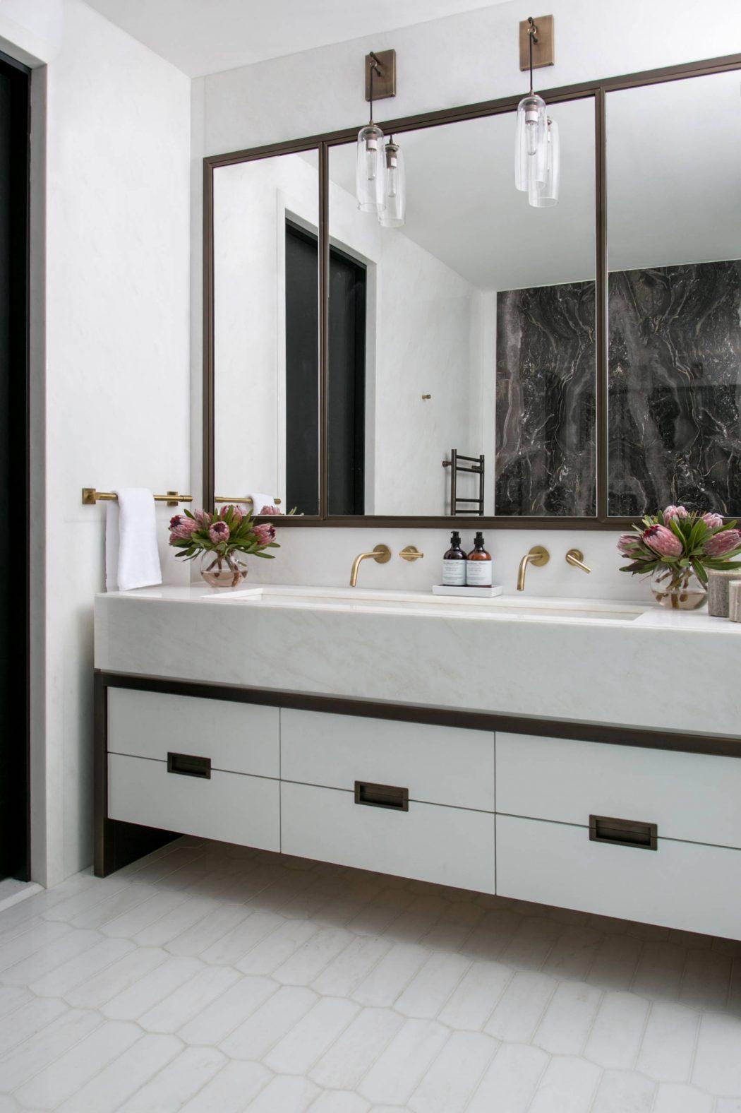 Luxe Badkamer In Tribeca Loft Badkamers Voorbeelden