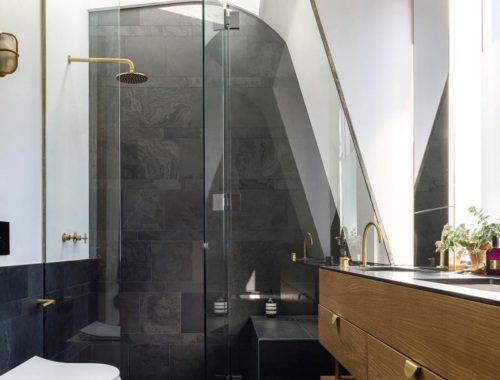 Luxe badkamer in verbouwd rijtjeshuis