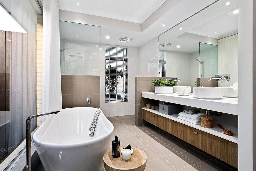 Luxe badkamer met luxe voorzieningen uit Perth