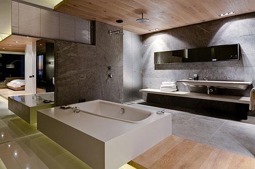 Witte Landelijke Badkamer ~ Badkamers voorbeelden ? Luxe badkamer van POD hotel