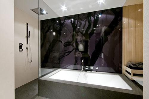 Luxe badkamer met sauna