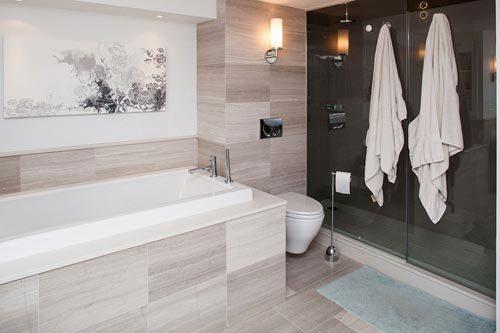 Luxe badkamer van stoere loft