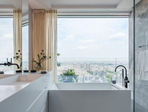 Luxe badkamer van Chinees penthouse appartement