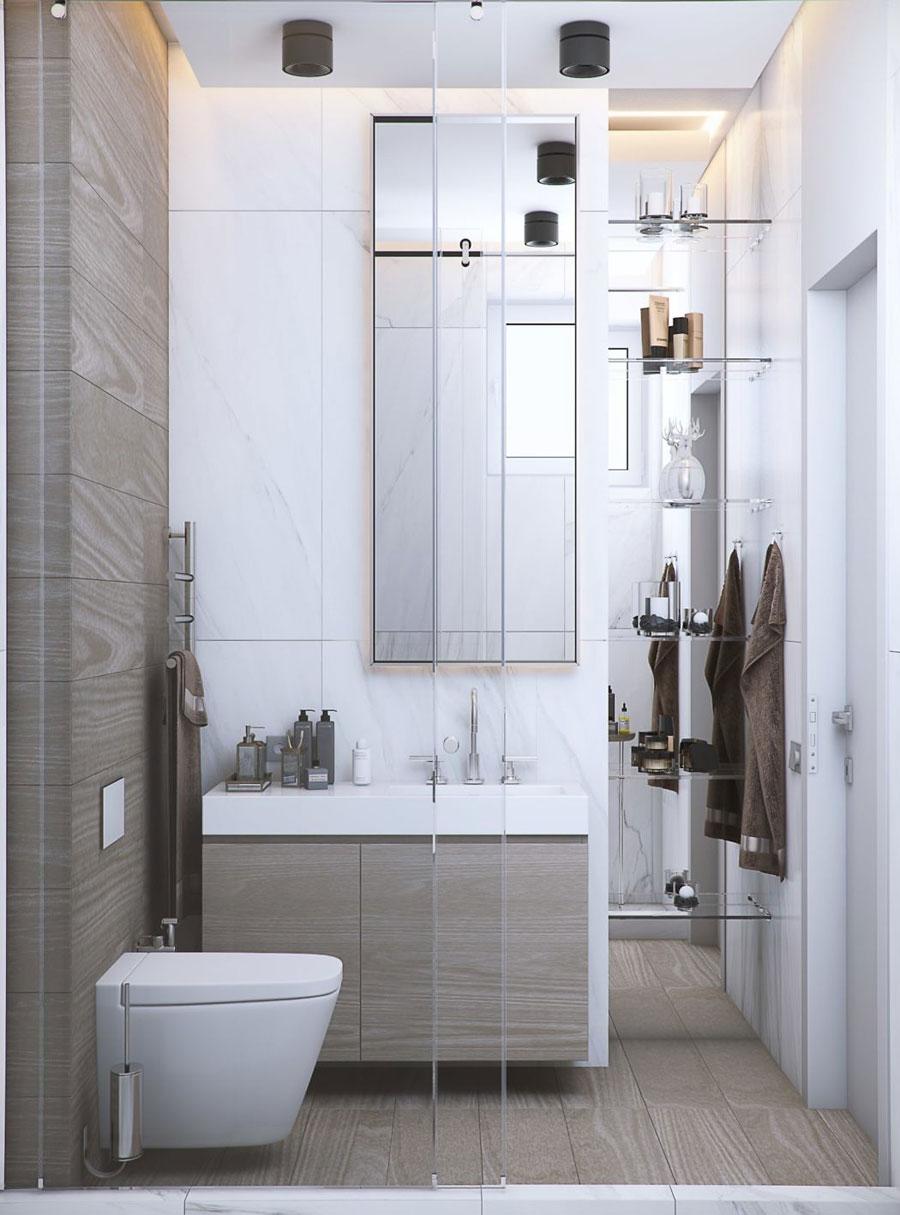 Luxe badkamer van het Northern Dune project