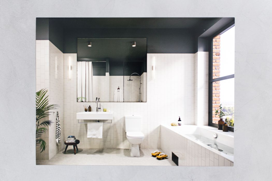 Luxe badkamer van Zweedse turnkey project