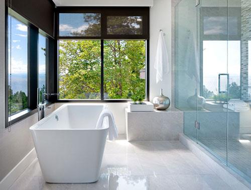 Luxe badkamer villa in Vancouver