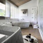 Luxe badkamers van Chalet Mont Blanc