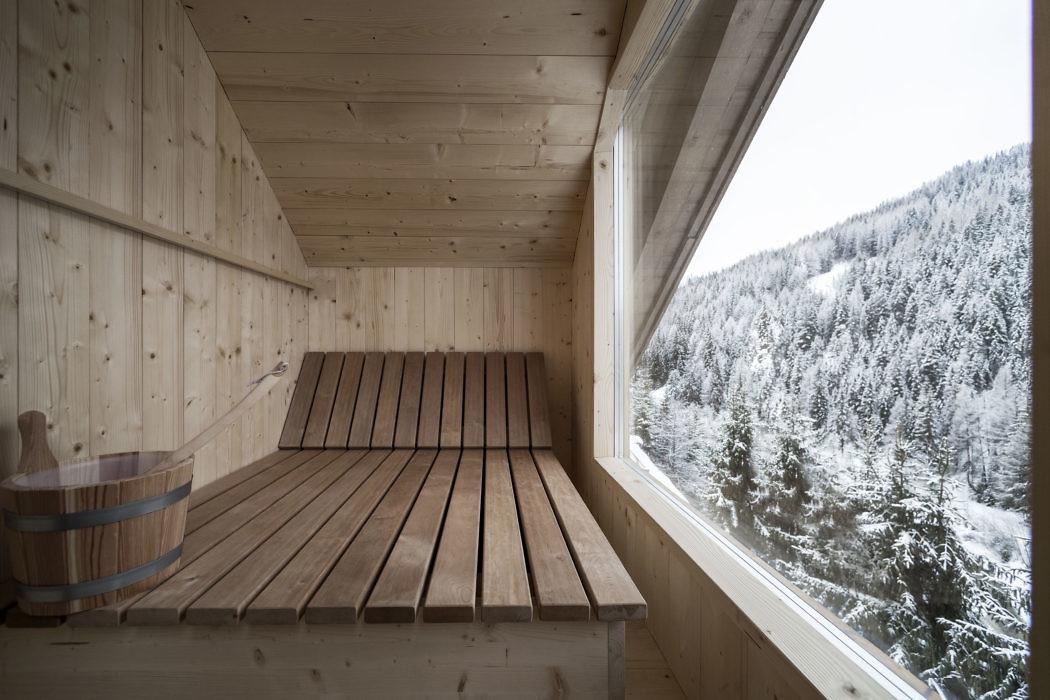 Luxe chalet stijl badkamer