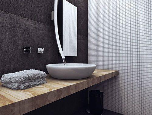 Luxe comfortabel badkamer ontwerp