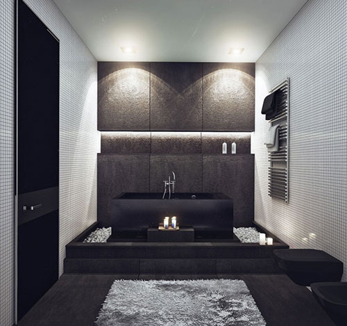 luxe comfortabel badkamer ontwerp badkamers voorbeelden