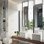 Luxe designbadkamer in Russische villa
