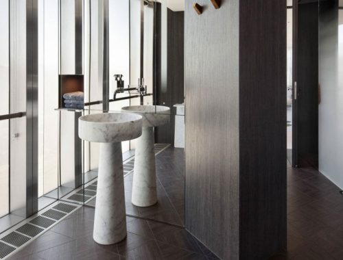 luxe designwastafel