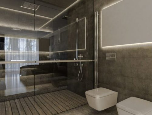 Luxe italiaanse badkamer met grote jacuzzi badkamers voorbeelden - Luxe badkamer design ...