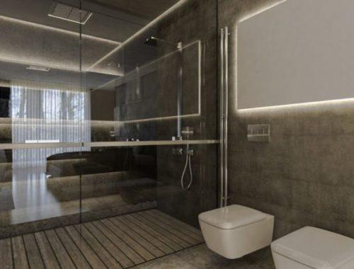 Luxe italiaanse badkamer met grote jacuzzi badkamers voorbeelden - Italiaanse badkamer ...