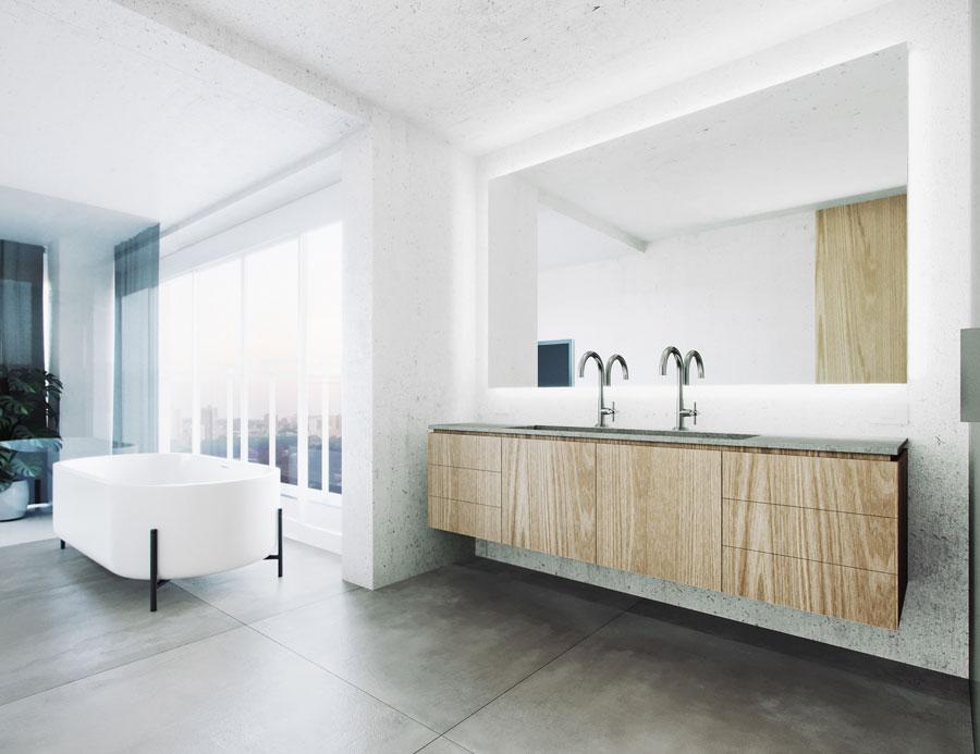 Luxe moderne badkamer door interieur- en architectenstudio Davidito