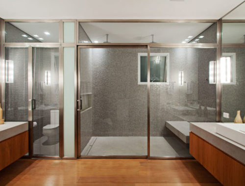 Luxe ruime badkamer door Perkins+Will