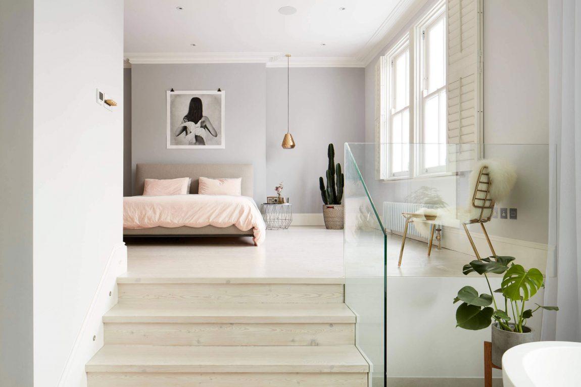 badkamers voorbeelden » luxe slaapkamer badkamer suite uit londen, Meubels Ideeën