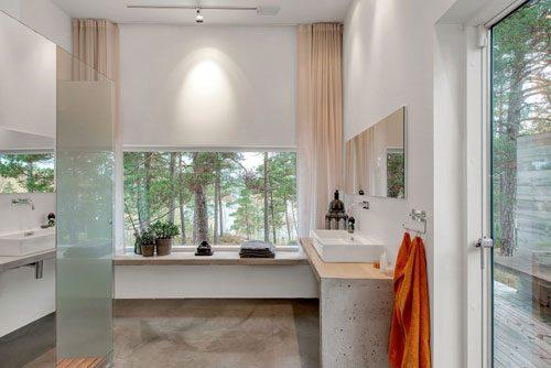 Luxe spa badkamer uit Zweden