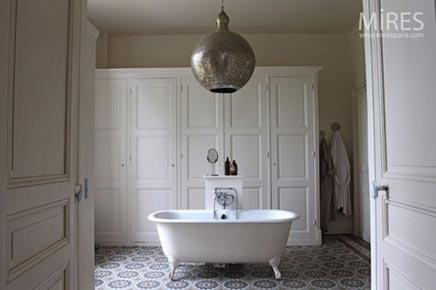 Marokkaanse badkamer