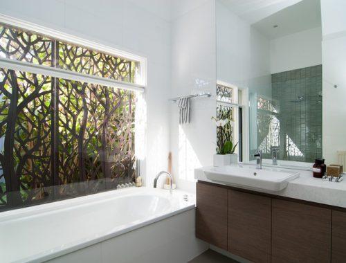 Master badkamer ontwerp door Petrina Turner Design