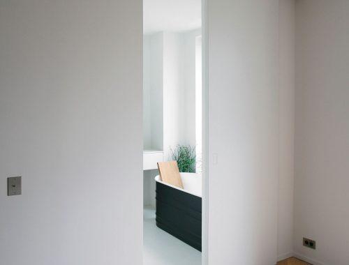 Minimalistische badkamer niet saai