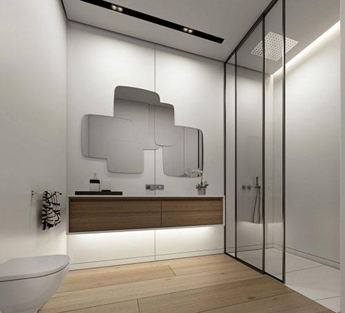 Modern badkamer ontwerp door Ando Studio - Badkamers voorbeelden
