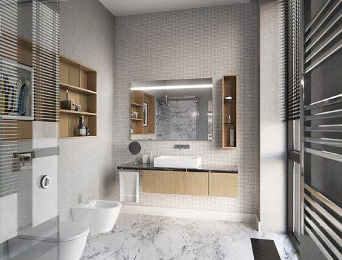 Luxe badkamer ontwerp van remy meijers badkamers voorbeelden