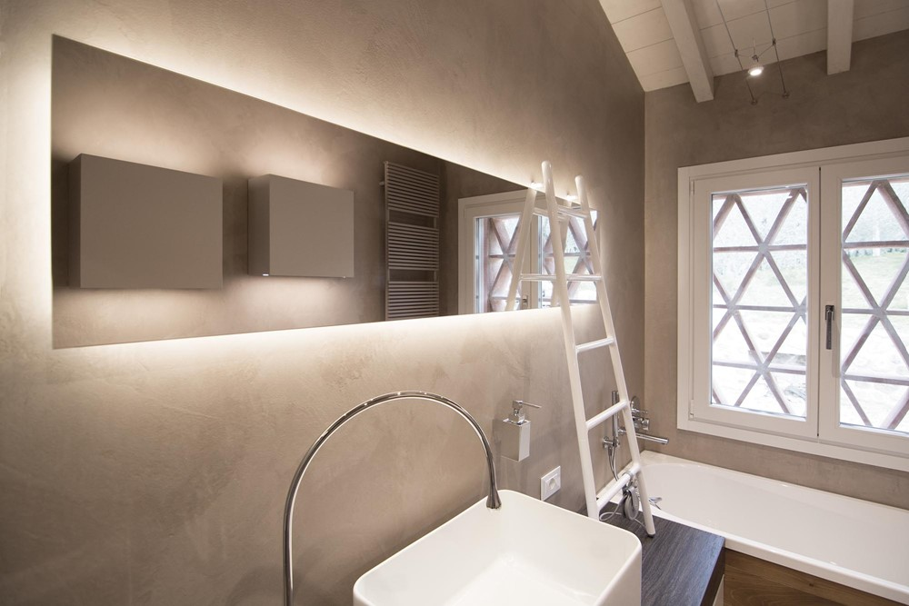 Rustiek Vintage Badkamer : Modern rustieke badkamer in toscane badkamers voorbeelden