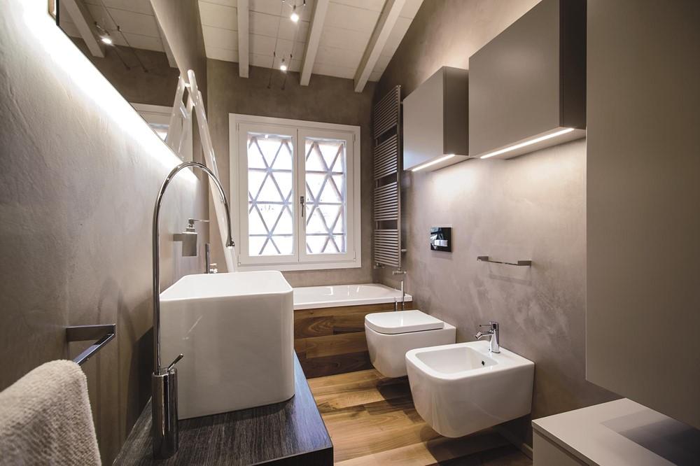 Modern rustieke badkamer in toscane badkamers voorbeelden