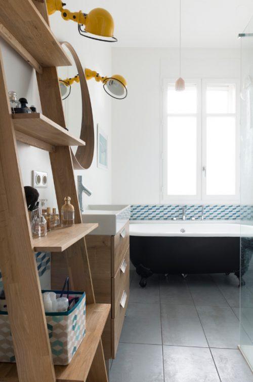 Moderne art deco badkamer