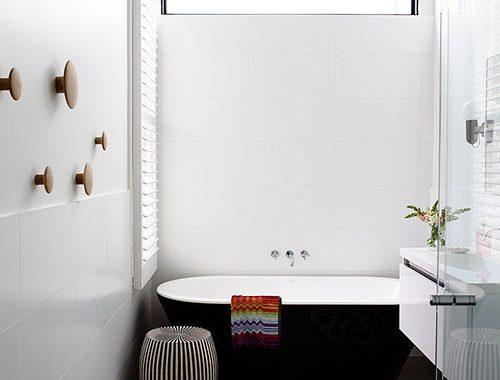 Moderne badkamer door Austin Design