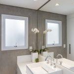 Moderne badkamer met Beton Ciré